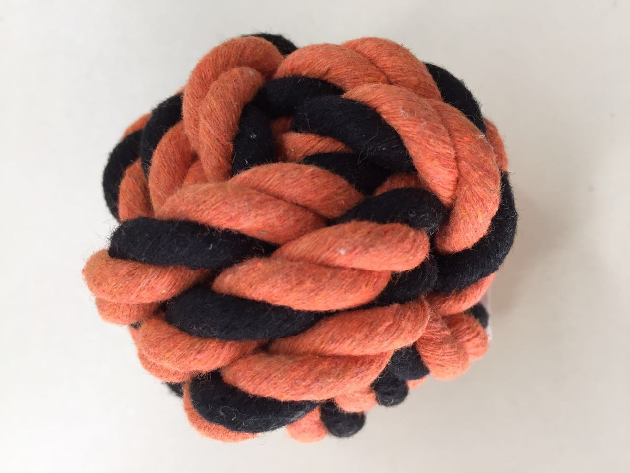 Cotton rope pet toy ball