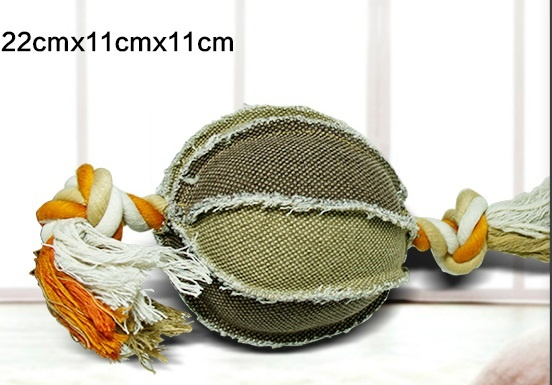 Canvas Pet toy ball dog toy