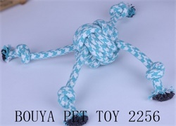 Rope toy for dog and cat with handles 2256