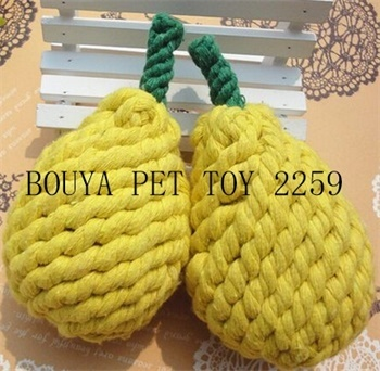 2016 new arrival Handmade pet supplies weave toy 2259