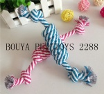 Clean dog teeth toy cotton rope knot shape 2288