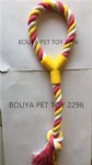 Stock for sale! Dog toy cotton rope toy 2296