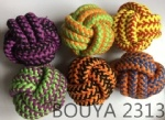 Woven rope pet toy ball Chew toys 2313