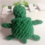 Handmade new product dog toy turtle design puppy chewing 2331