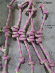 Handmade Rope Toy Collection Tugger & Handles