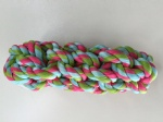 Rope pet toy bones