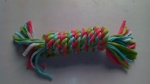 Pet toy Cotton rope Twist Coil Tugger xpt2161