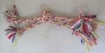 Pet Dog toy Cotton rope Twist Coil Tugger 2167