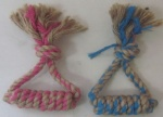 Eco rope dog pet toy knot 2169