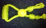Green tennis ball new design pet toy for dog chewing